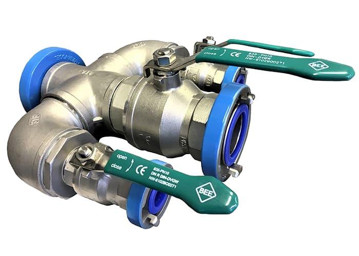 DCD Verteiler für Trinkwasser aus Edelstahl